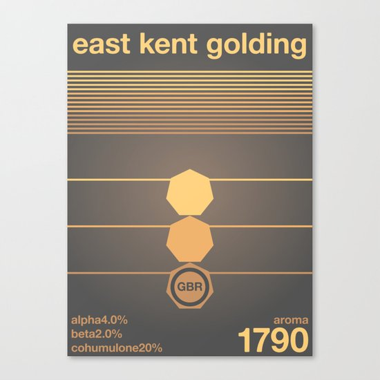 east kent golding single hop Canvas Print