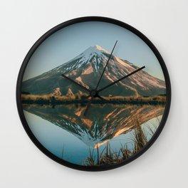 Reflecting on life Wall Clock