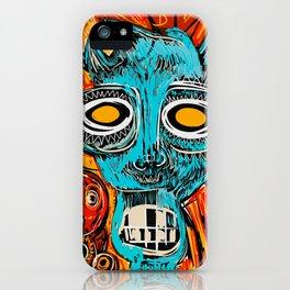 Blue Devil iPhone Case