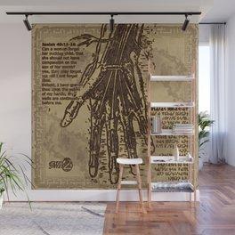 "Denkezal's take on ""God's Palms"" Wall Mural"