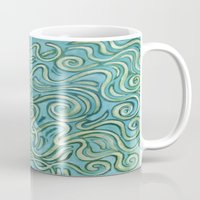 bows Mugs featuring Bows by Motif Mondial