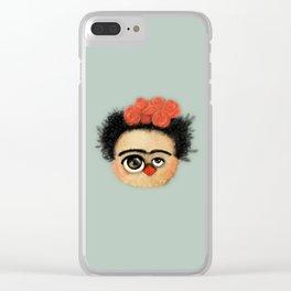 """""""Pies para qué los quiero si tengo alas para volar""""  (Frida Kahlo) Clear iPhone Case"""