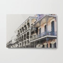 New Orleans Throwback Metal Print