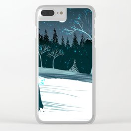Ice Chamber Clear iPhone Case
