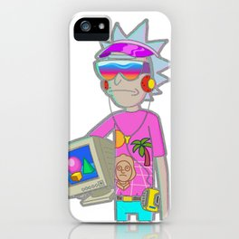 Headphone rick iPhone Case