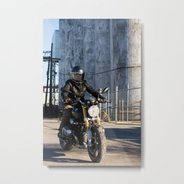 The Lone BMW Metal Print