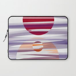 Abstract transparencies Laptop Sleeve