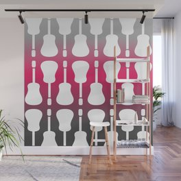 Passionate music lovers Wall Mural
