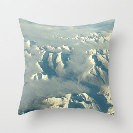 Near the Arctic Throw Pillow