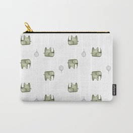 Unforgettable Elephants  Carry-All Pouch