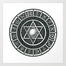 Alchemist's Seal Art Print