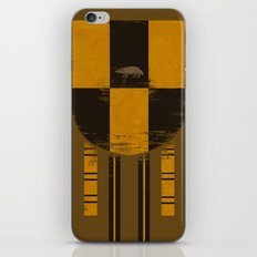 hufflepuff crest iPhone & iPod Skin