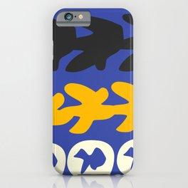 Digital Gouaches Découpées iPhone Case