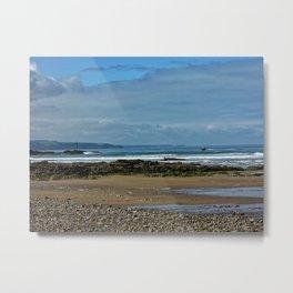 Cornwall - Bude Metal Print
