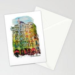Casa Batllo Barcelona Stationery Cards