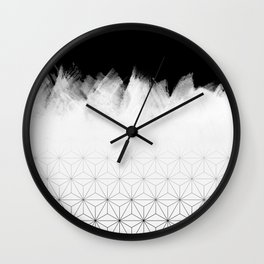 Christmas Geometric Pattern Wall Clock