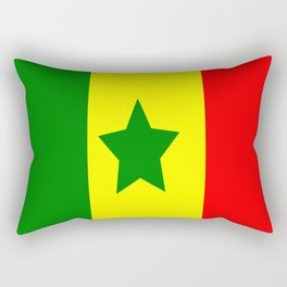 Flag of Senegal Rectangular Pillow