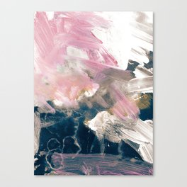 Blush Night Canvas Print