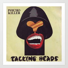 Talking Heads Art Print