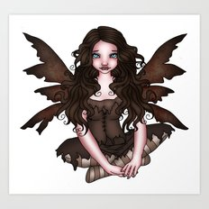 Earth Fairy Art Print