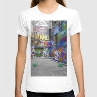 melbourne T-shirts featuring Melbourne Graffiti 2 by Another Alex