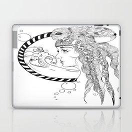 Octopus Woman Laptop & iPad Skin