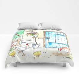 Yay, Chickens! Comforters