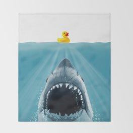 Save Ducky Throw Blanket