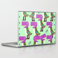 monsters Laptop & iPad Skins featuring Monsters by luizavictoryaPatterns
