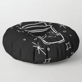 Witch's Brew Coffee Floor Pillow