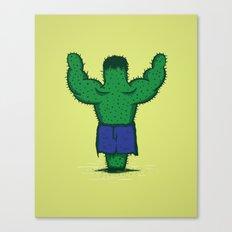 The Incredible Hulktus Canvas Print