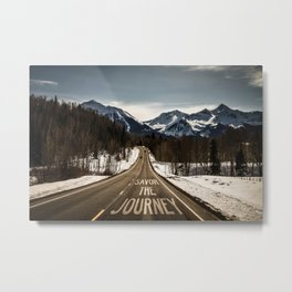 Savor The Journey Metal Print