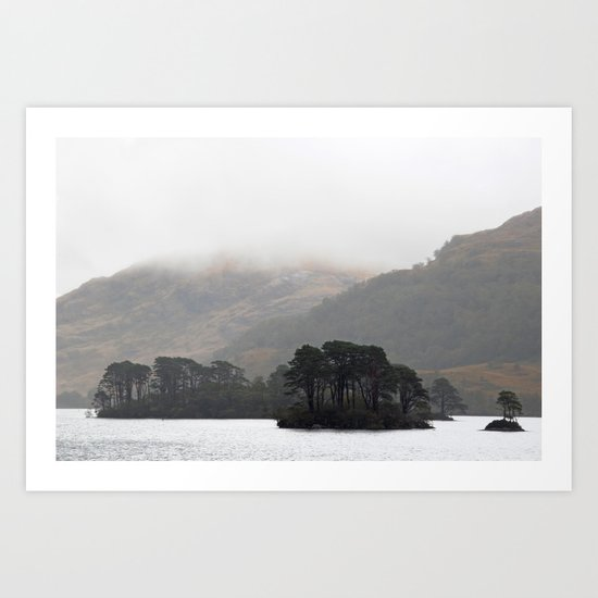 The pull of the land Art Print