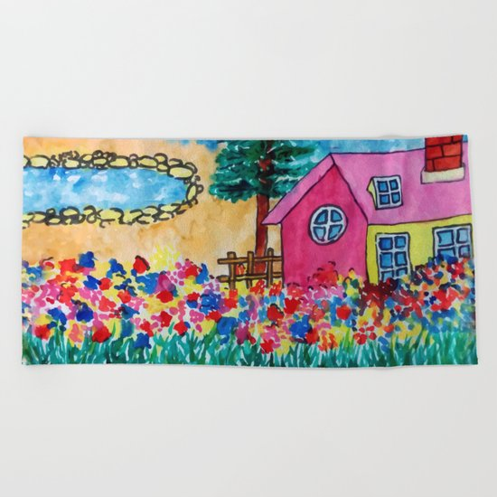 Magical Home Beach Towel