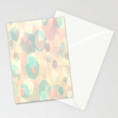 Pastel Geometric Pattern No 1  Stationery Cards