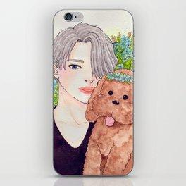 Viktor and Makkacchin iPhone Skin