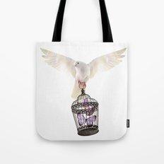 Even doves have pride Tote Bag