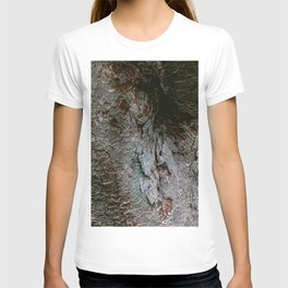 Natural colourful bark from an old Japanese tree | Botanical garden nature photography T-shirt