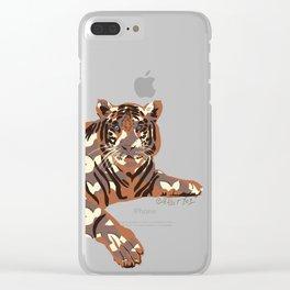 Le Tigre Clear iPhone Case