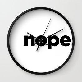 nope! Wall Clock
