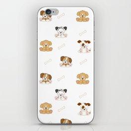 Puppy Dog Baby Nursery Wall Art iPhone Skin