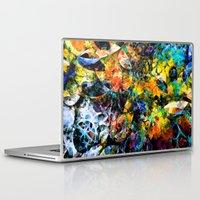 underwater Laptop & iPad Skins featuring Underwater by Klara Acel