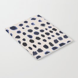 Watercolor dot pattern Notebook