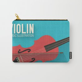 Violin Poster Carry-All Pouch