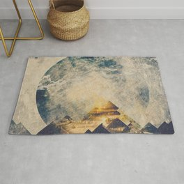 One mountain at a time Rug