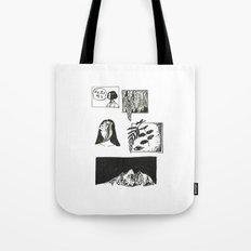 Comic Strip Tote Bag
