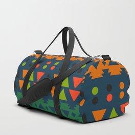 Lively geometric fun Duffle Bag