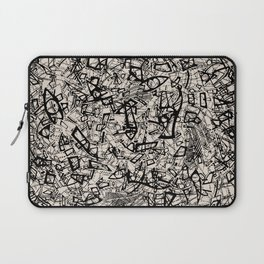 - newspaper - Laptop Sleeve