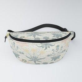 Vintage Floral & Plants Pattern Fanny Pack
