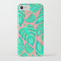 palms iPhone & iPod Cases featuring Palms by Anika Kirk
